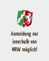 Anmeldung nur aus Nordrhein-Westfalen